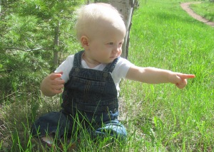 Viren at eleven months, Laramie, Wyoming
