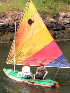 Setting Sail in Fish House Cove