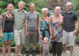 Our family in Maine, July 2013
