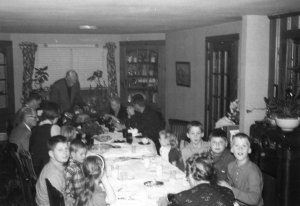 Thanksgiving at Wayland with the Perry relatives