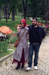 Strolling in Istanbul, Turkey:   April 2014