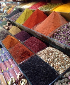 Spices: Istanbul, Turkey, April 2014