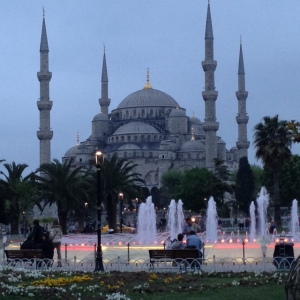 The Blue Mosque: Istanbul, turkey, April 2014