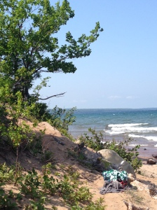 Little Presque Isle: Marquette, Michigan, Early August