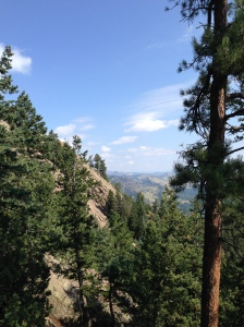 Chautauqua Park, Boulder, Colorado: August 2014