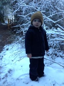 Viren on Christmas Day Hike: 2014
