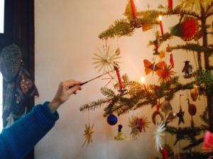 Lighting the Tree on Epiphany