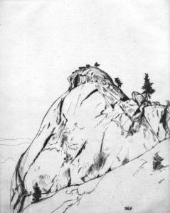 Moro Rock: Sequoia National Park, 1914