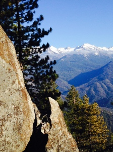 High Sierra Trail: Sequoia National Park; January 31, 2015