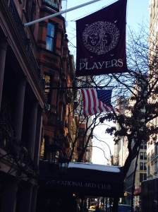 The Players Club, Gramercy Park, New York City: February 20, 2015 Ernest Haskell was a member, late 1800's/ early 1900's