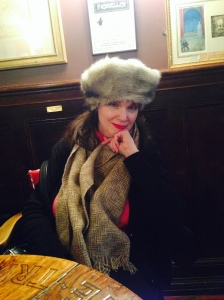 Cousin Abby at Player's Club, New York City: February 20, 2015