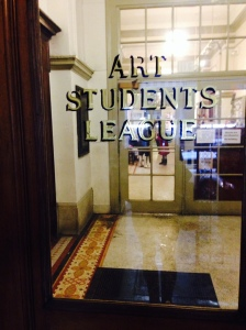 The Student Art League, New York City: February 21, 2015  (Ernest Haskell taught an etching class here during the winter of 1918)