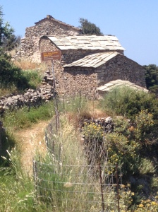 Ancient Byzantine village: Kythera, Greece, May 2015