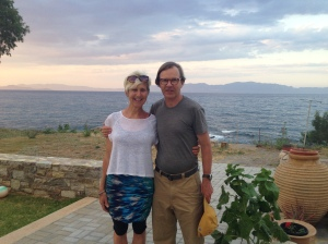 Helen and Cam: Pelagia Aphrodite Hotel, Kythera, Greece, May 2015