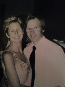 At Peter and Shelly's wedding, May 14, 2005