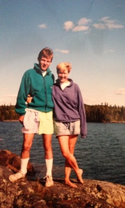 Camping in Canada: August, 1991
